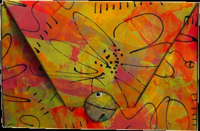 Envelope - Small Orange Neon