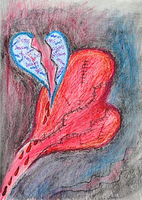 Journal-Page-Broken-Heart-497x700px