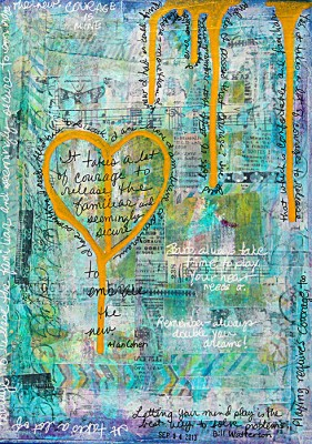 Journal-Page-Heart-Gold-Courage-491x700px